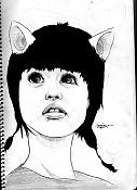 Dibujos rapidos , Bocetos  y apuntes  en papel -orejillas.jpg