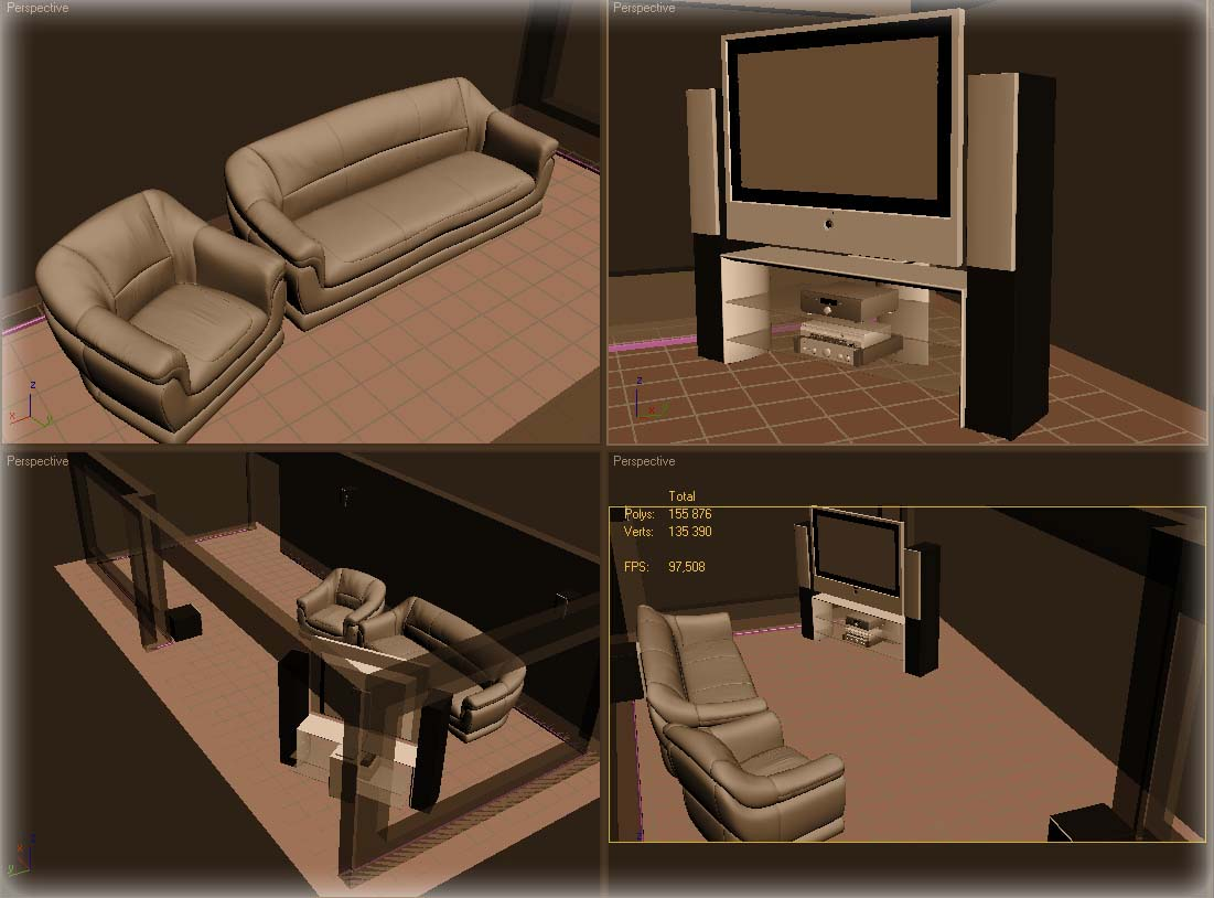 Sala home cinema jack3dm - Sala home cinema ...