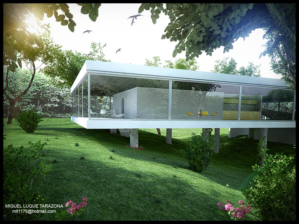 Iluminacion vray en exteriores for Iluminacion en exteriores