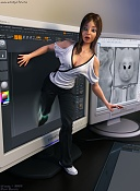 Thats one small step for a Cg model one Giant leap for me-samanthastep1600-mitja-.jpg