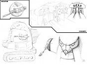 Version adaptada del vehiculo   aTTaK TRaK   de   He-Man  -dibujo1.png