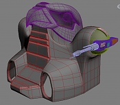 Version adaptada del vehiculo   aTTaK TRaK   de   He-Man  -cabin4.jpg