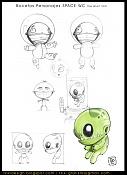 Dibujos rapidos , Bocetos  y apuntes  en papel -space-wc-conceptart.jpg