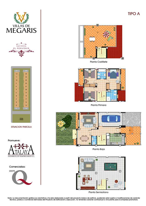 planos de casas 2d