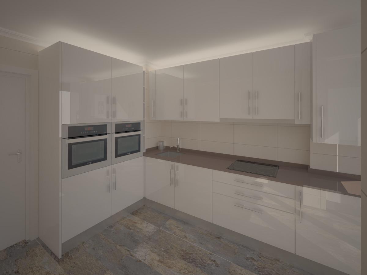 Redise ando mi cocina for Muebles de cocina hasta el techo